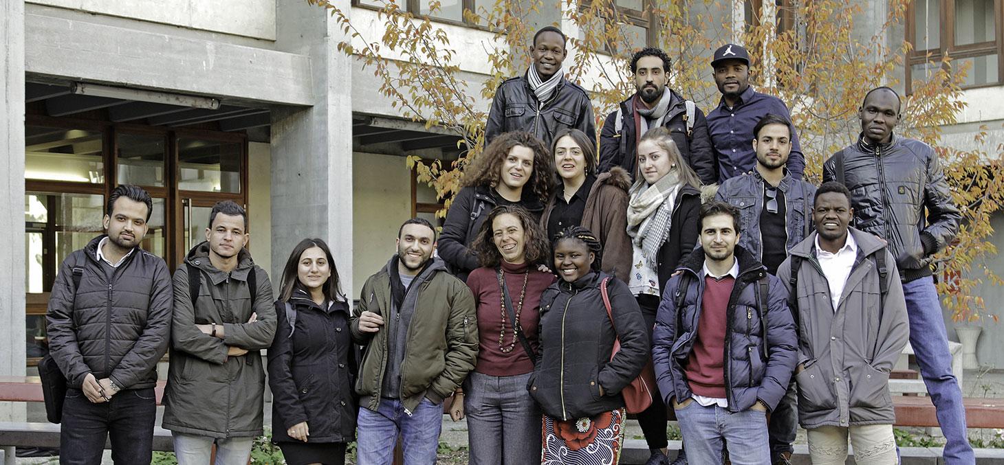 DU Passerelle, étudiants en exil